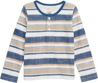 Peek Essentials Stripe Henley T-Shirt