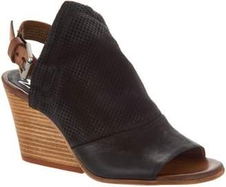 Miz Mooz Leather Wedge Sandals - Kona