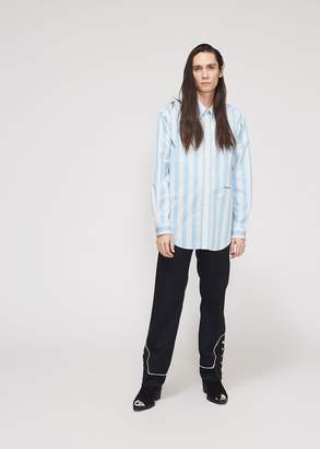 Calvin Klein Uniform Stripe Poplin Shirt