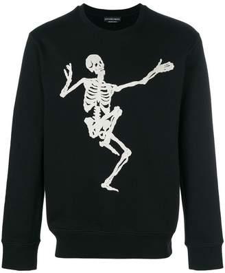 Alexander McQueen Funny Bones sweatshirt