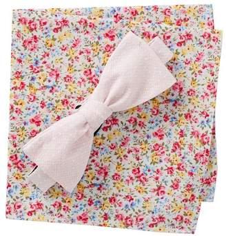 Original Penguin Parmly Dot Bow Tie Set