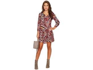 BB Dakota Kelly Printed Dress Women's Dress