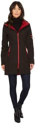 Ilse Jacobsen 3/4 Length Two-Tone Coat Women's Coat