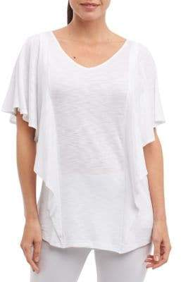 Foxcroft Kendall Short-Sleeve Top