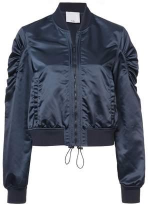 Tibi cropped bomber jacket