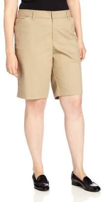 Dickies Women's Plus-Size 10-Inch Stretch Twill Short