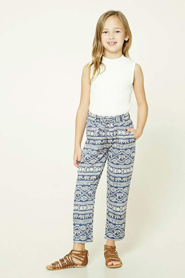 Forever 21 Girls Graphic Pants (Kids)