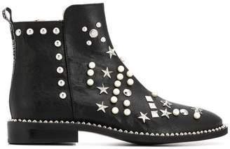 Ermanno Scervino embellished ankle boots