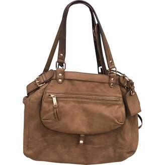 Vanessa Bruno Lune Khaki Leather Handbag