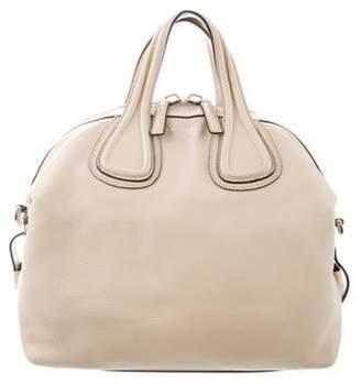Givenchy Leather Satchel Bag silver Leather Satchel Bag