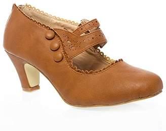 Chloé V-Luxury Chase & Womens Mina4 Closed Toe Mary Jane High Heel Shoes