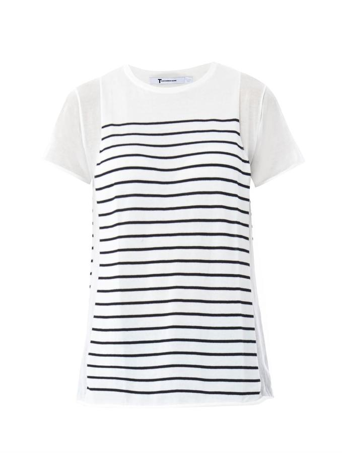 Alexander Wang Stripe knit T-shirt