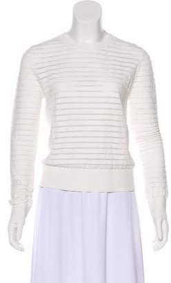 Diane von Furstenberg Crew Neck Long Sleeve Sweater