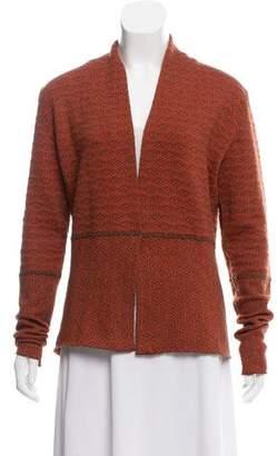 Etro Patterned Wool Cardigan