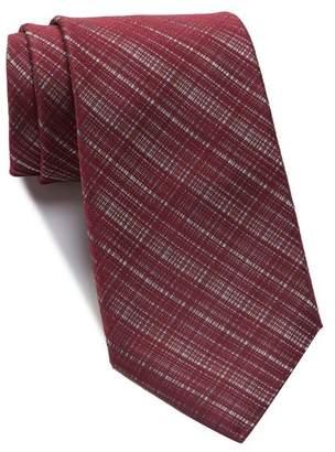Kenneth Cole Reaction Hidden Grid Solid Tie