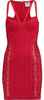 Herve Leger Delana Bandage Mini Dress