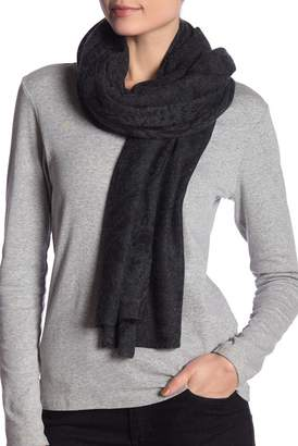 In Cashmere Paisley Print Cashmere Scarf