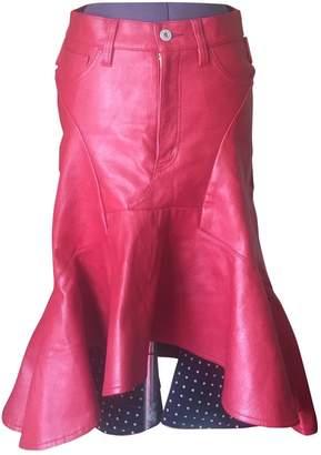 Junya Watanabe Red Skirt for Women Vintage