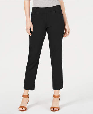 Style&Co. Style & Co Cropped Pull-On Straight-Leg Pants