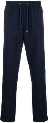Dolce & Gabbana contrast panel straight trousers