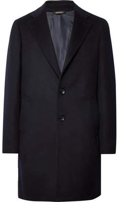 Loro Piana Rain System Cashmere Coat - Men - Midnight blue