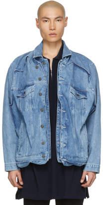 Y/Project Blue Denim Pop-Up Jacket