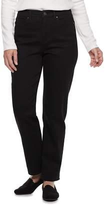 Croft & Barrow Women's Classic Curvy Straight-Leg Jeans