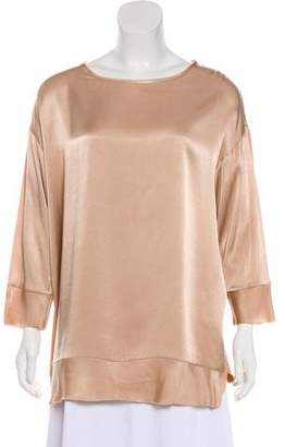 By Malene Birger Crew Neck Long Sleeve Top