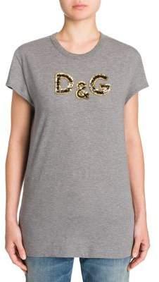 Dolce & Gabbana Jersey Logo Cotton Tee