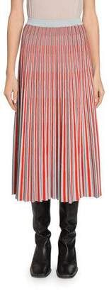 Proenza Schouler Pleated Knit Midi Skirt