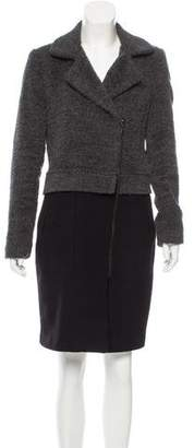 Trina Turk Wool Knee-Length Coat