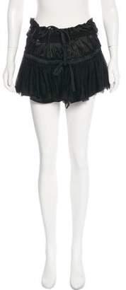 Ann Demeulemeester Silk Mini Skirt