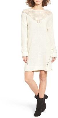 Women's Roxy Borrowed Time Open Knit Sweater Dress $59.50 thestylecure.com