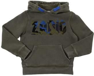 Zadig & Voltaire Zadig&voltaire Logo Patch Hooded Cotton Sweatshirt