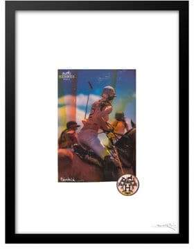 Hermes Luxe West Royal Windsor Polo Club Ad Print