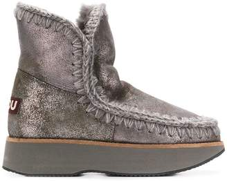 Mou chunky sole boots