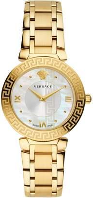 Versace Daphnis Stainless Steel Bracelet Watch