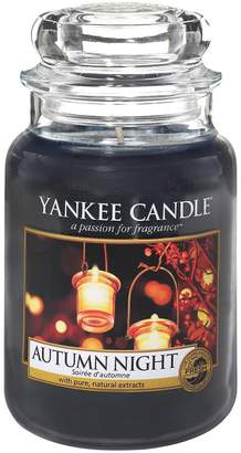 Yankee Candle Autumn Night Large Jar Candle