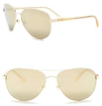 Kate Spade 58mm Blossom Aviator Sunglasses