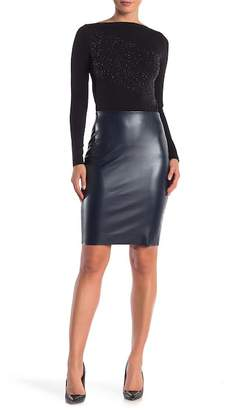 Wolford Estella Faux Leather Skirt