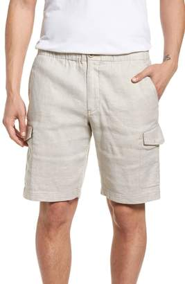 Tommy Bahama Beach Linen Blend Cargo Shorts