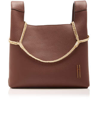 Hayward Chain-Detailed Leather Bag
