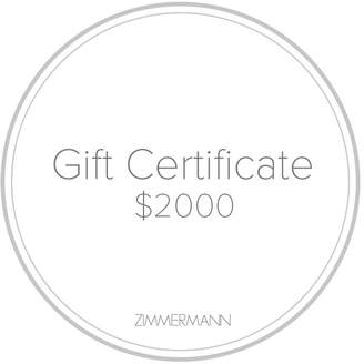 Gift Certificate $2000