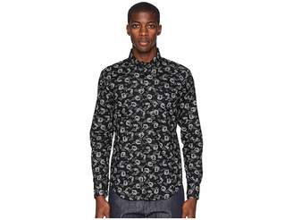 Naked & Famous Denim Regular Shirt Dragon Print