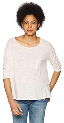 Three Dots Women's eco Knit Short Loose tee