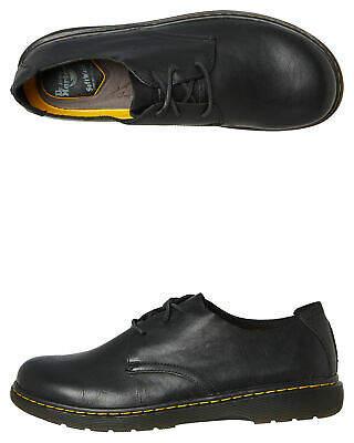 Dr. Martens New Women's Womens Elsfield Bts Shoe Rubber Soft Leather Black