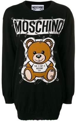 Moschino Ready to Bear knit dress