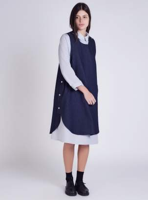 Kate Sheridan Denim Pop Tabard Dress