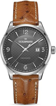Hamilton Jazzmaster Watch, 44mm