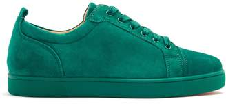 Christian Louboutin Louis Junior low-top suede trainers